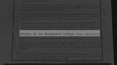 Assembléia Legislativa revoga lei que pedia aumenta em taxas do Detran - Anexo do processo estava errado.