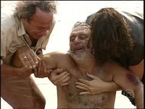 Bruno Mezenga é encontrado - Zé, Marcos e Luana ficam emocionados com o reencontro