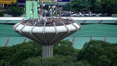 Monumento em Ceilândia tem 27 metros de altura - Confira o monumento, com 27 metros de altura, que é o símbolo da cidade de Ceilândia.