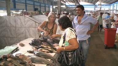 Reportagem mostra como está a venda e peixes no Sertão e em Campina Grande - Com a chegada da semana santa setor tem aquecimento e produtos ficam mais caros.