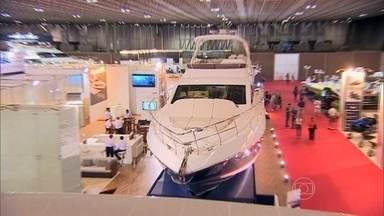 Rio Boat Show reúne de barcos à moto aquática mais potente do mundo - Visitamos o maior evento de lanchas e barcos do Brasil, realizado na capital fluminense.