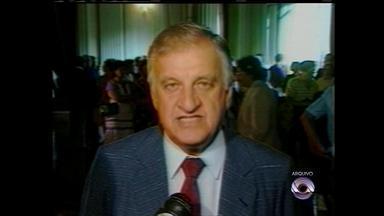 Otávio Germano falece aos 90 anos em Porto Alegre - Ex-vice-governador estava internado há dois meses na Santa Casa de Misericórdia.