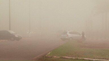 Terça-feira começa com neblina em Foz do Iguaçu - A semana segue ensolarada na cidade.