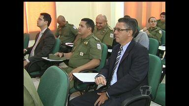 PC e PM avaliam a atuação dos órgãos nos primeiros meses do ano em Santarém - Reunião aconteceu na manhã desta terça-feira (31).