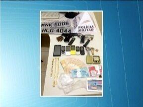 MG Patrulha: Casal é preso em Timóteo suspeito de envolvimento com o tráfico de drogas - Com eles foram encontrados duas armas de fogo, dinheiro e celulares.