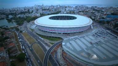 Interessados em comprar ingressos para jogos das Olimpíadas já podem se inscrever - Haverá um sorteio para definir quem poderá comprar ingressos. A Arena Fonte Nova, em Salvador, é um dos estádios que vai receber partidas de futebol.