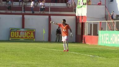 Paredão, camisa 1 do Tombense é um dos destaques da equipe - Goleiro Darley tem fechado o gol no Campeonato Mineiro.