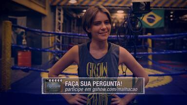 10/04 - Isabella Santoni e Ju Paiva vão ter um #PapoReto com você - Faça suas perguntas para as duas atrizes