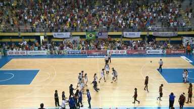 Maranhão Basquete vence Sport - Maranhão Basquete vence Sport, no Castelinho, e avança para as semifinais da LBF