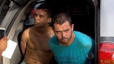 Suspeitos de roubar carros são detidos em Belo Horizonte - De acordo com a polícia, eles roubam os veículos para cometer assaltos.