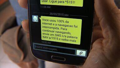 Justiça decide multar operadoras de telefonia sobre limite de uso da internet - Justiça decide multar operadoras de telefonia sobre limite de uso da internet
