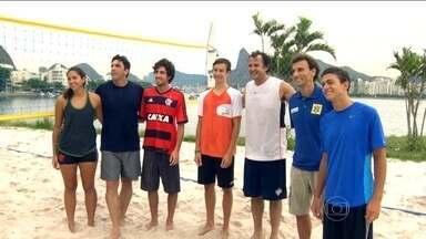 Filhos de campeões olímpicos do vôlei seguem os passos dos pais - Filhos de Giovane, Paulão, Carlão, Emanuel e Ricardo, pretendem seguir o mesmo esporte de seus pais.
