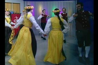 Integrantes da etnia sueca participam do JA deste sábado(04) - Neste final de semana acontece o festival Folckdance em Ijuí, RS.