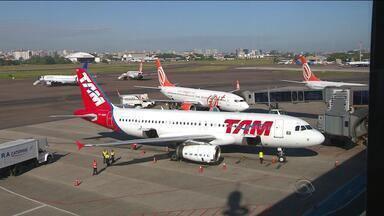 Voo da Tam com destino a Porto Alegre sobrevooa Rio de Janeiro por duas horas - Companhia aérea disse que houve imprevisto operacional.