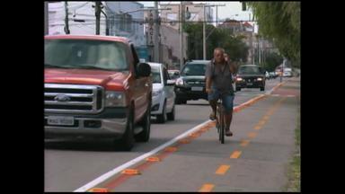 Usuários comemoram ciclovia em Rio Grande, um mês após inauguração - Assista ao vídeo.