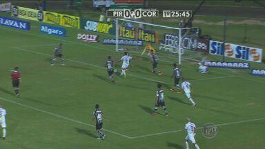 XV de Piracicaba empata com o Corinthians e se classifica - Time do interior encara o Santos nas quartas-de-final