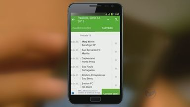 'Toque Tec' mostra aplicativos para ficar atento aos esportes - Dispositivo ajuda torcedor a ficar atualizado sobre competições em tempo real.