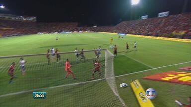 Em partida entre Sport e Bahia na Ilha do Retiro, placar não sai do zero - Para o goleiro Magrão, foi um grande jogo e o adversário era difícil.
