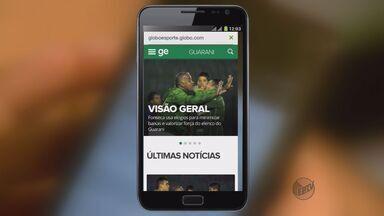 Aplicativos auxiliam torcedores a acompanhar notícias de times de futebol - Aplicativos auxiliam torcedores a acompanhar notícias de times de futebol