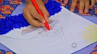 Crianças aprendem cultura e história de Cuiabá - Crianças aprendem cultura e história de Cuiabá.