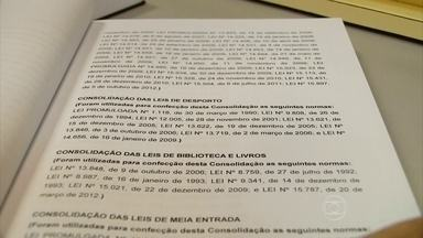 Estudo aponta que cinco mil leis de Santa Catarina devem ser revogadas - Decisão foi tomada após um estudo revelar que algumas leis de Santa Catarina são muito antigas ou estão erradas.