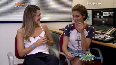 #PapoReto Ju Paiva e Isabella Santoni - Parte 2 - 10/04/15 - #PapoReto #20AnosMalhação com Ju Paiva e Isabella Santoni