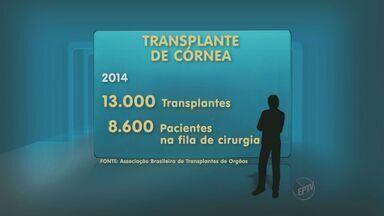 Transplante de córnea caiu 44% no país nos últimos dez anos - Os dados são da Associação Brasileira de Transplantes de Órgãos, segundo eles, a queda está relacionada a melhoria no tratamento de doenças dos olhos.
