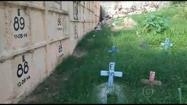 BDRJ recebe denúncia de irregularidades em cemitério - O cemitério de Belford Roxo, o único da região, é alvo de denúncias de irregularidades. Confira.