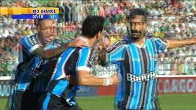 Futebol: veja os melhores momentos do jogo de Grêmio e Juventude - Assista ao vídeo.