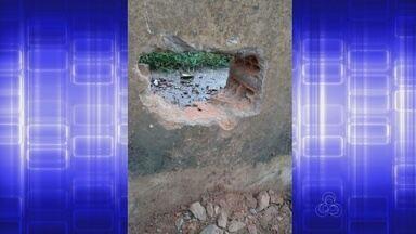 Detentos fogem do Iapen neste domingo (12) - Sete presos conseguiram fugir na tarde deste domingo do Iapen. Eles fizeram um buraco em uma das muralhas do presídio.