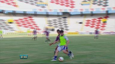 Santa Cruz tem mais uma baixa pra enfrentar o Central - Salgueiro também está focado na semifinal do estadual.