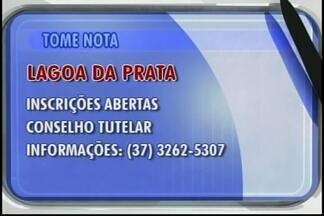 Conselho Tutelar lança edital com cinco vagas para Lagoa da Prata - Salário é de R$1.695,07 para o cargo de conselheiro tutelar.Início das atividades será em janeiro de 2016.