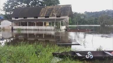 Defesa Civil monitoras áreas de risco de alagamentos no Amapá - A principal preocupação são as cheias que ainda podem ocorrer. Mas até agora a situação é de estabilidade.