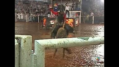 Começam hoje os rodeios da Expô Londrina - A montaria em touros promete levantar o público na arena do Parque Ney Braga.