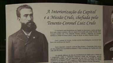 Festa no Clube dos Pioneiros comemora os 55 anos de Brasília - O evento homenageou o belga Luiz Cruls, responsável pela missão que fez a primeira demarcação do local onde seria construída a capital. Várias personalidades estiveram presentes.