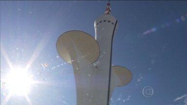 Importantes monumentos de Brasília estão interditados - Quem deixou para conhecer a capital federal no Feriadão, vai se decepcionar. Alguns dos principais monumentos da região estão interditados.