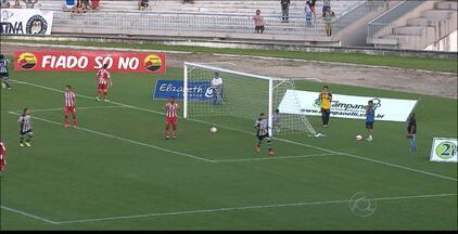 Botafogo-PB 4 x 2 Auto Esporte - Belo vence o Alvirrubro no Almeidão e garante a classificação antecipada para o quadrangular final do Paraibano 2015.