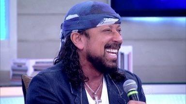 Bell Marques revê participação dos filhos no Encontro - Da outra vez, cantor veio acompanhado de seus filhos Rafael e Filipe