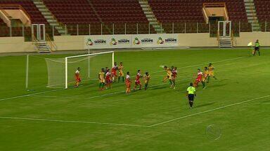 Estanciano vence Socorrense de virada no último minuto da partida - Estanciano vence Socorrense de virada no último minuto da partida