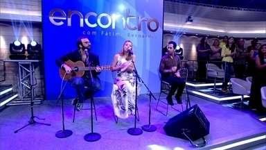 Banda do Mar embala plateia com 'Mais Ninguém' - Música anima convidados do Encontro