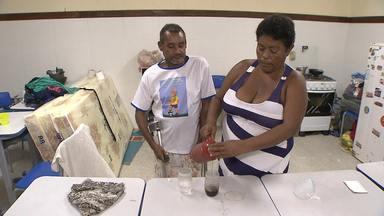 Cinquenta famílias estão sem moradia após deslizamentos em Boa Vista do São Caetano - Oitenta pessoas estão abrigadas em uma escola do bairro.