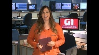 Confira os destaques do G1 no Tem Notícias desta quarta-feira no noroeste paulista - Declaração do IR 2015 e Comida di Buteco são destaques.