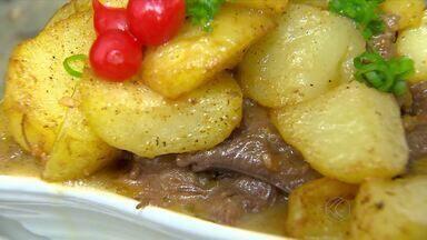 Bares aumentam estrutura para receber 'Comida Di Buteco' em Juiz de Fora - Diferentes pratos são distribuídos nos 15 estabelecimentos participantes do concurso.