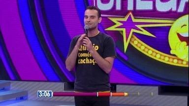 Gabriel Freitas é o último a dar show no 'Quem Chega Lá?' - Divirta-se com o humor dessa fera