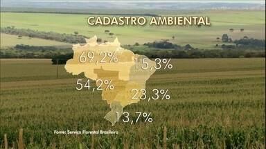 Ministério do Meio Ambiente prorroga Cadastro Ambiental Rural - Pouco mais da metade da área rural do país foi cadastrada dentro do prazo.