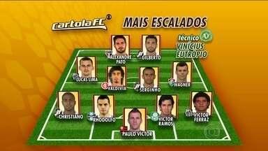 Confira os jogadores mais escalados para a primeira rodada do Brasileirão no Cartola - Tato, Paulo Victor e Gilberto estão na lista.