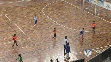 Início da Copa TV Tribuna de Futsal Escolar - Início da Copa TV Tribuna de Futsal Escolar.