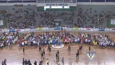 Abertura da Copa TV Tribuna de Futsal Escolar - Confira como foi a cerimônia de abertura da 13ª edição.