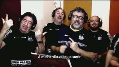 21º título paulista do Santos é homenageado com música - Confira o clipe com a música do título.