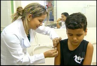 Dia D de vacinação ao combate a gripe movimenta postos de Campos, no RJ - Meta é imunizar 116 mil pessoas.